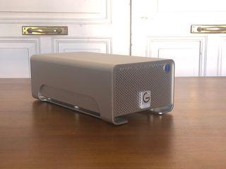 RAID 8TB G-DRIVE DISCO DURO HD THUNDERBOLT