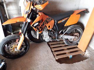 KTM 450 exc 2007 supermotard