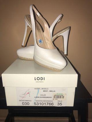 Zapato novia Lodi