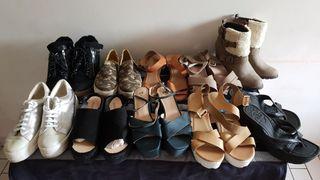 Lot de 10 paires de chaussures (Pointure 39)