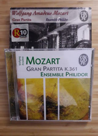 CD Mozart - Gran partita