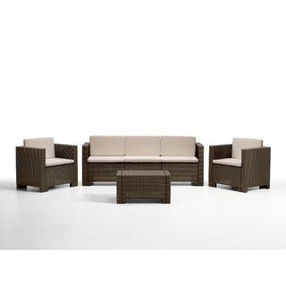 Conjunto mesa y sillones para jardín