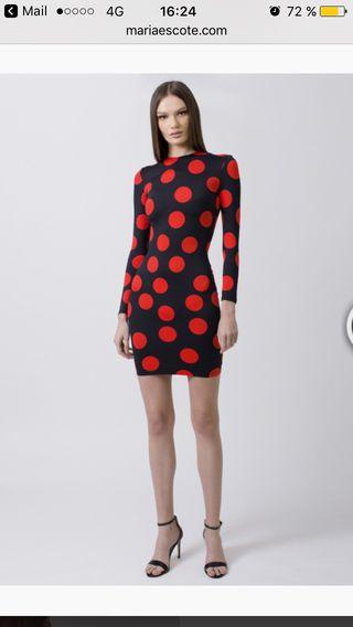 Vestido diseño Maria Escote