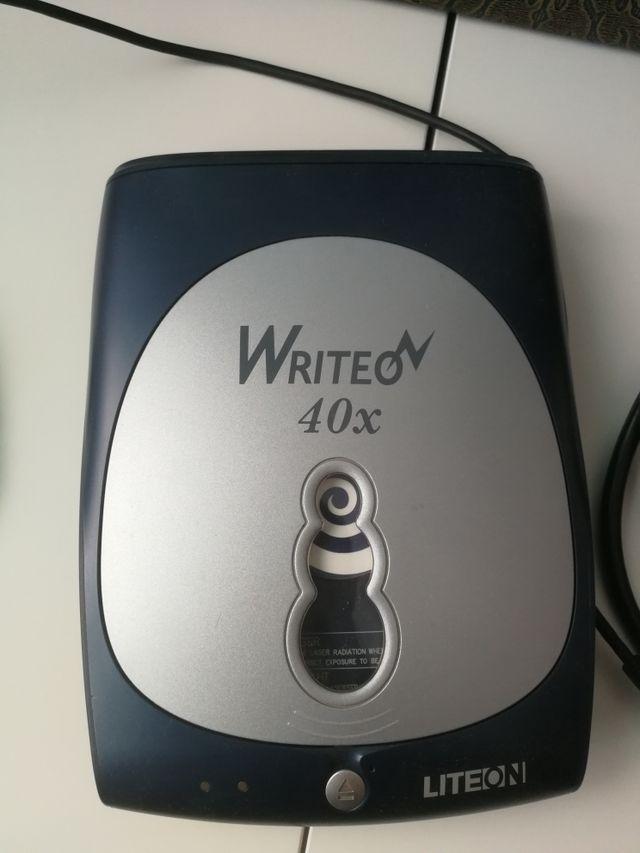 grabadora write on 40x externa