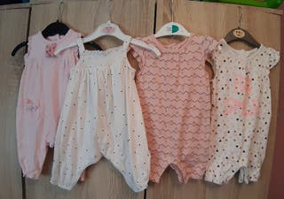 0-3 playsuit/romper bundle