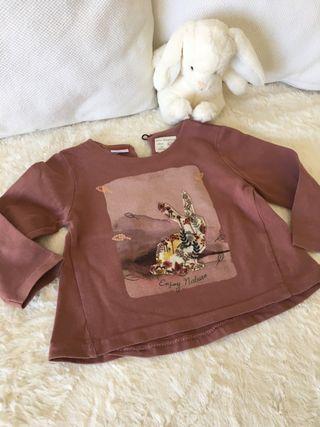 Camiseta bebé niña 9/12