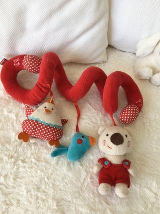 Espiral/juguete carrito cuna bebé Tuc Tuc