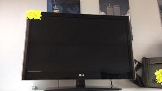 "TV LG LED 32"" FULL HD TDT USB FUNCIONANDO"