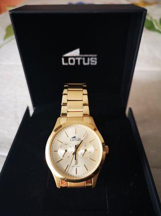 645a7eca60f5 Reloj de oro Lotus de segunda mano en WALLAPOP