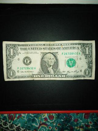 Un dolar de Estados Unidos