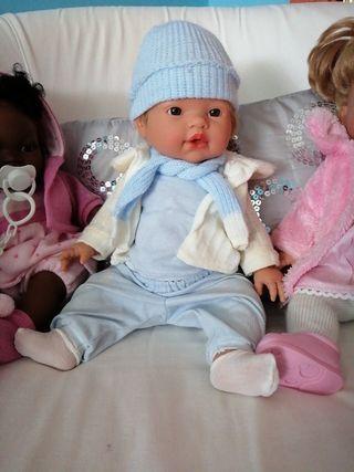 bebés de juguete