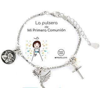 271d03216d5a Pulsera de plata niña de segunda mano en Madrid en WALLAPOP