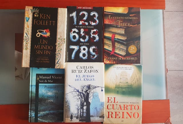 Libros de segunda mano en Barcelona en WALLAPOP