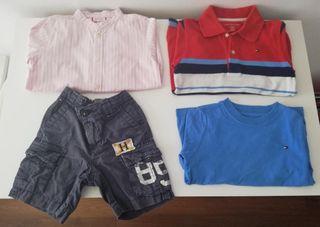 Lote ropa niño talla 4-5 años