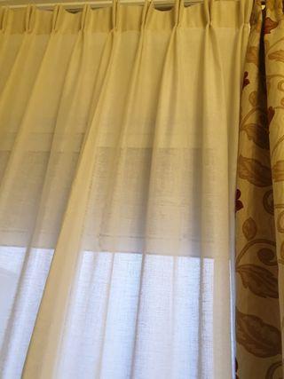 cortinas y corchas