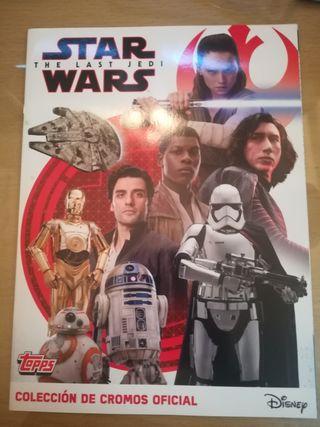 Star Wars. Los Últimos Jedi. Pegatinas.