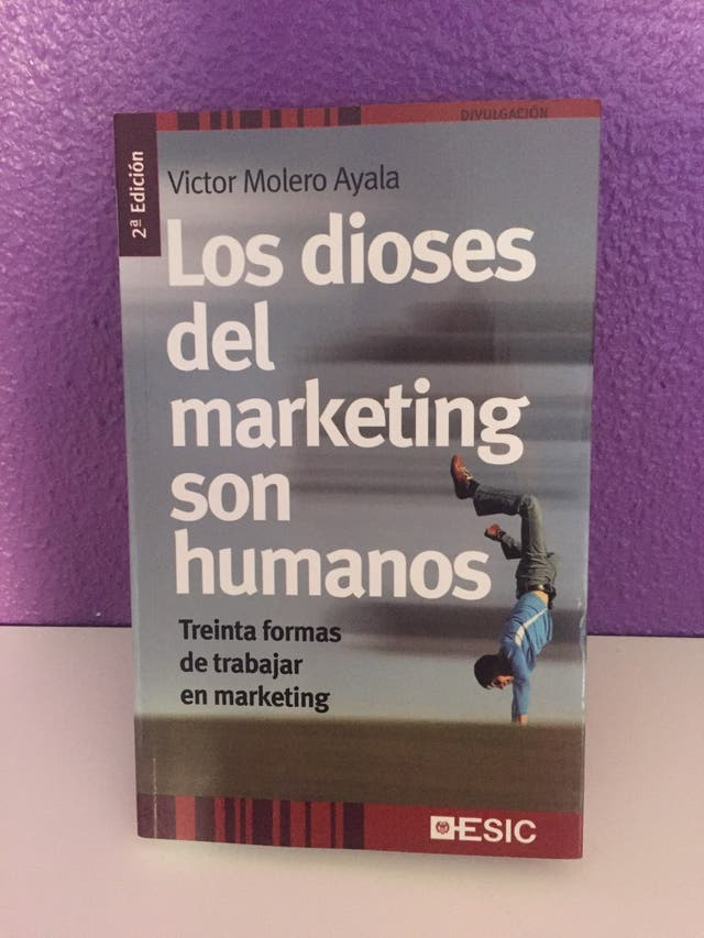 Los dioses del marketing son humanos