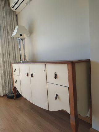 Mueble aparador comedor madera de cerezo