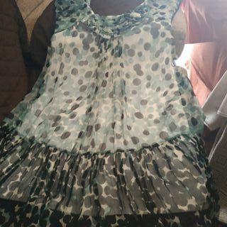 Vestido de fiesta Derhy estampado talla M sin usar
