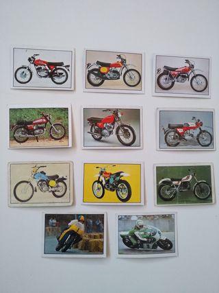 Lote 11 cromos Moto 80 de Ediciones Este año 1977