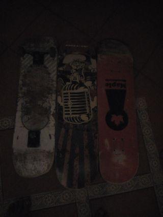 Skate: Tablas y piezas