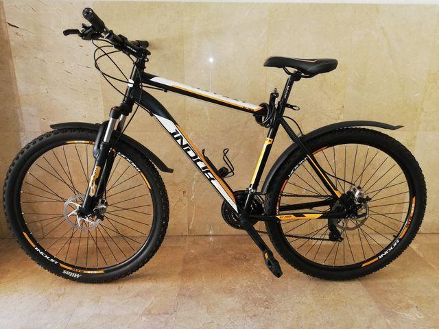 063185ca Bicicleta MTB INDUR ATTACK 80SD, 27.5