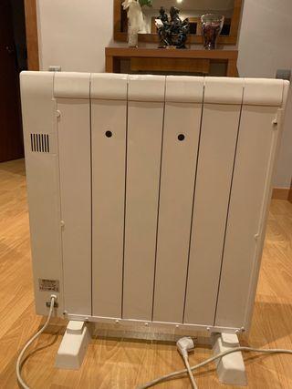 2 Radiadores eléctricos de bajo consumo