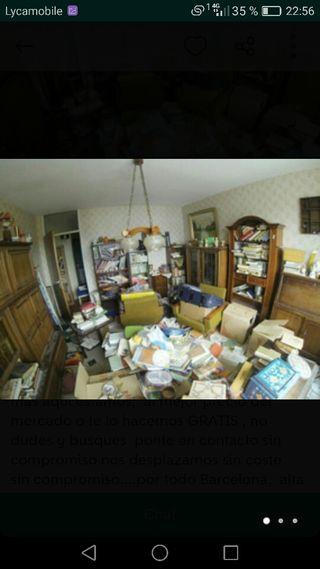 Limpieza y recogida de casas, naves o local
