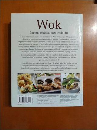 Libro Wok Cocina asíatica