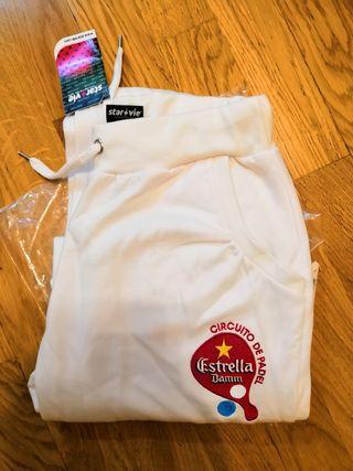 Pantalón Pádel Estrella Damm talla S/M