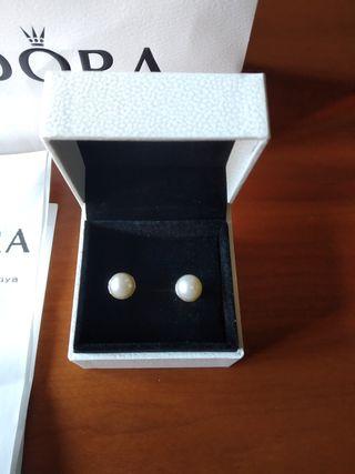 bcbfc2f5d2df Pendientes con perlas cultivadas de segunda mano en la provincia de ...