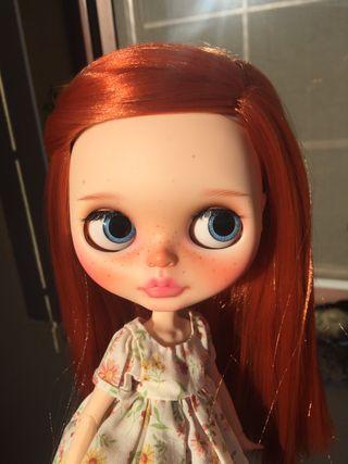 Blythe custom doll.