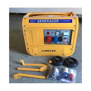 electrico con rueda generador