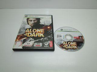 Juego Xbox 360 en caja Alone in the dark