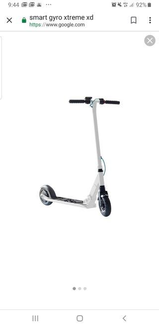 patinete eléctrico A estrenar