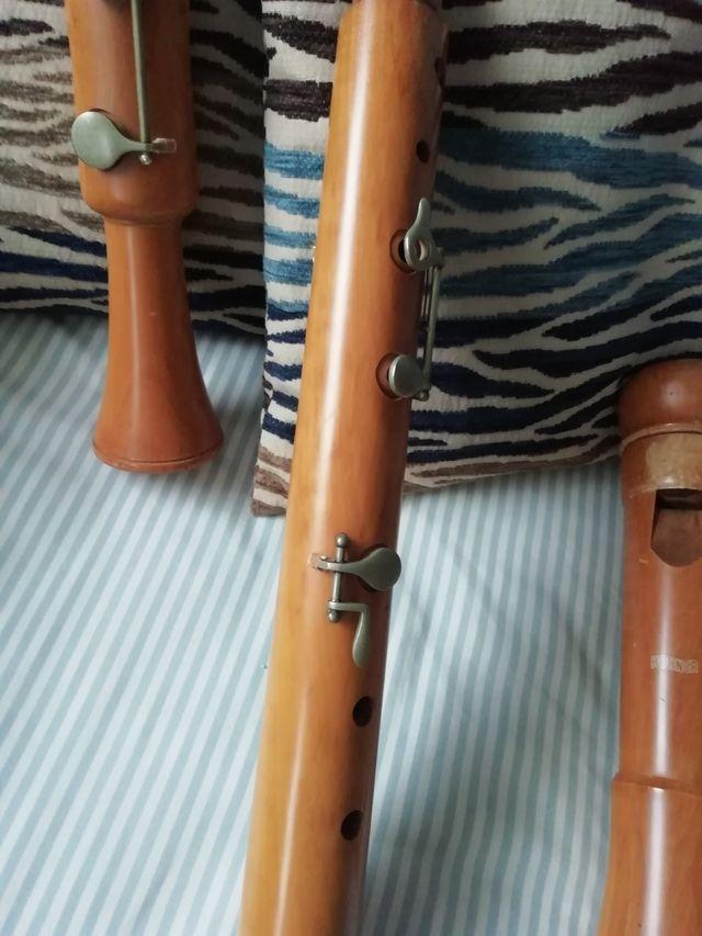 Flauta dulce baja HOHNER