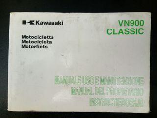 KAWASAKI VN900 MANUAL USUARIO