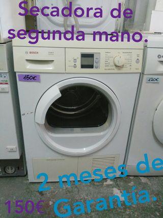 Secadora de segunda mano.