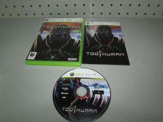 Juego Xbox 360 Comp Too Human