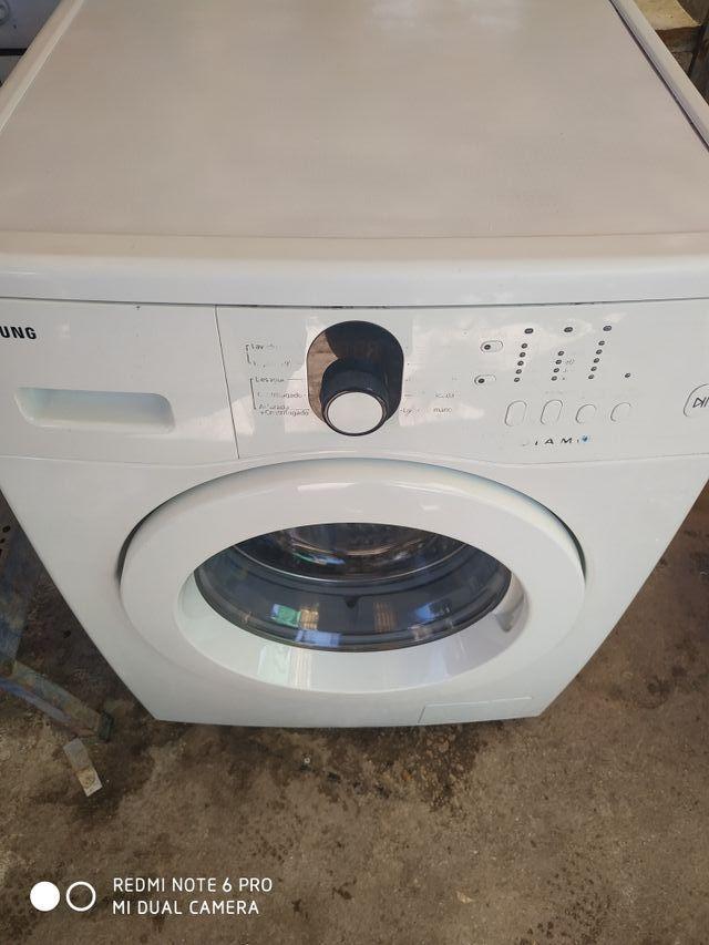 lavadora Samsung 6 k somos tienda física