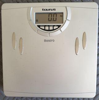 Báscula digital con nivel grasa