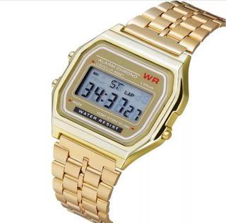 b85080c0b109 Reloj Casio dorado de segunda mano en Madrid en WALLAPOP
