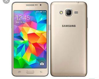 2 móviles Samsung, grand prime y J3 2016