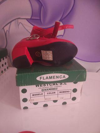 zapatos de flamenca bebe