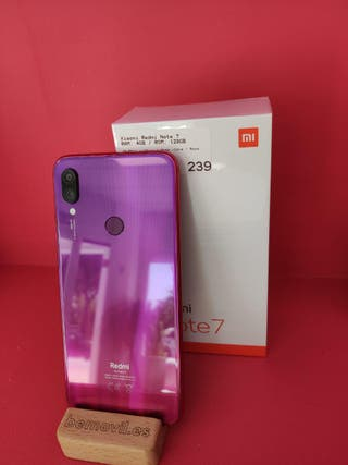 Xiaomi Redmi Note 7 4GB / 128GB - Nuevo