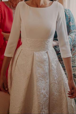 41ec96ebd ... segunda mano en la provincia de Alicante. Vestido de novia Silvia  Navarro