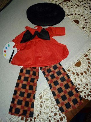 traje muñeca nancy