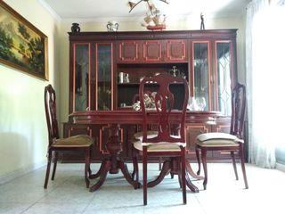 Conjunto de muebles salón vintage clásico