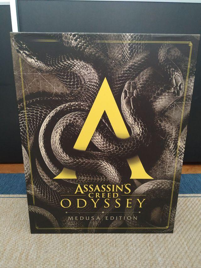 Assassins Creed Odyssey Medusa Edition Rara Nueva De Segunda Mano