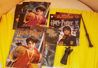 2 álbum cromos, 2 revistas 4 posters. Harry Potter